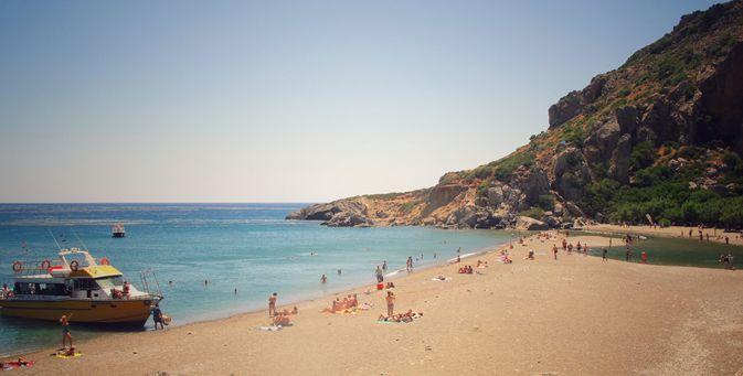Plaja Preveli, Creta