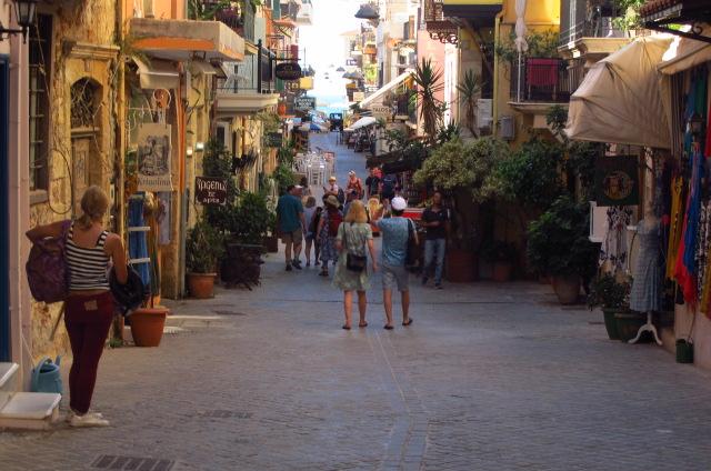 turisti in Creta