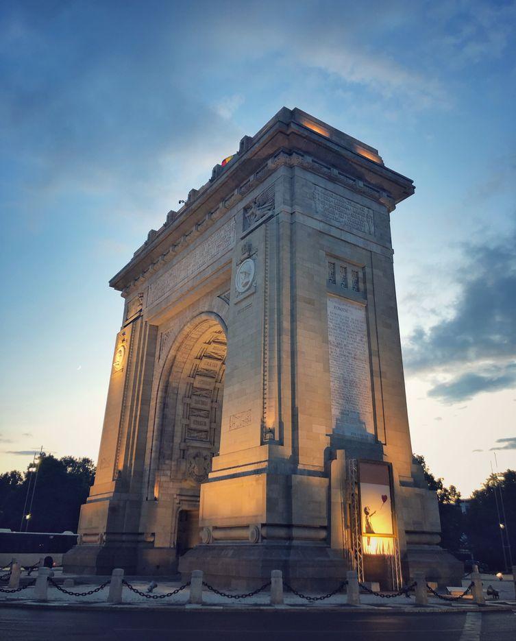 Arcul de Triumf, Bucureşti