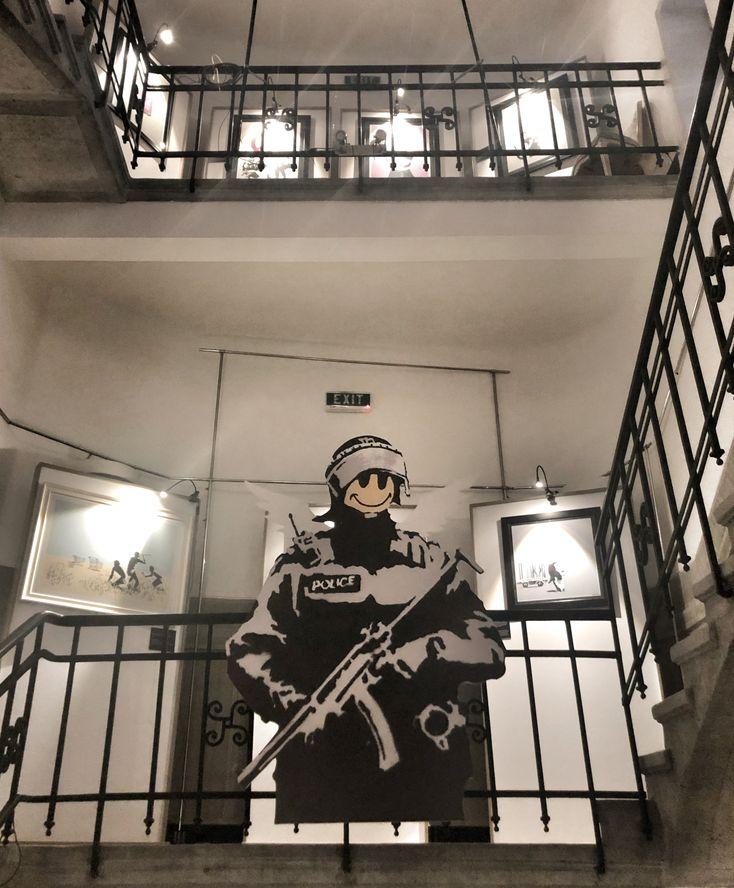 Expoziţie Banksy, Bucureşti