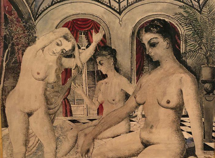 Tablou de Paul Delvaux, Lisabona