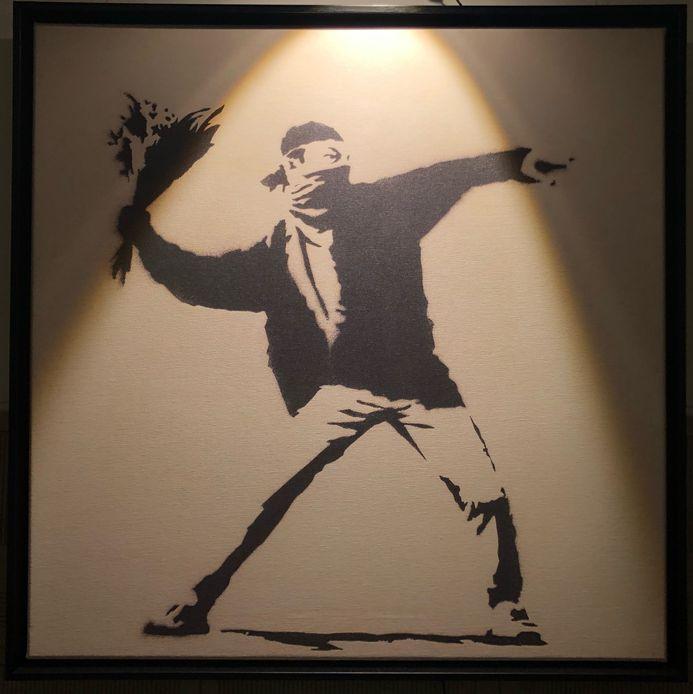 Pictură de Banksy