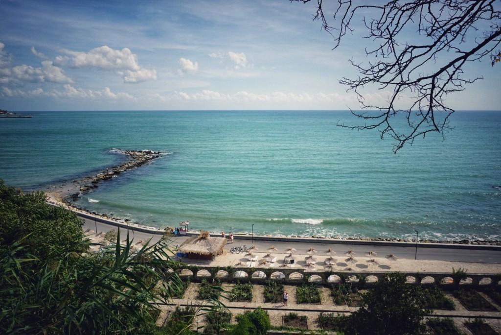 Plaja din Balchik, Bulgaria