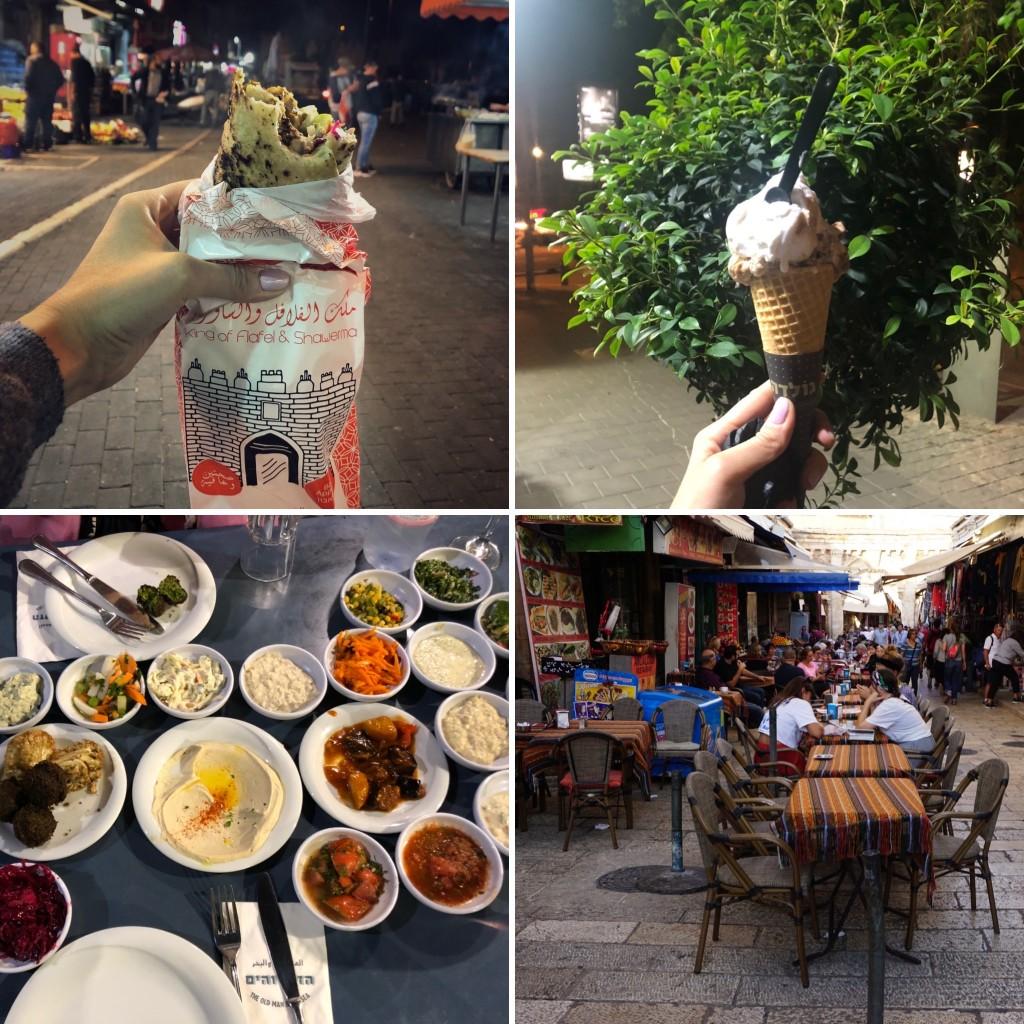 Imagini cu mâncare în Tel Aviv