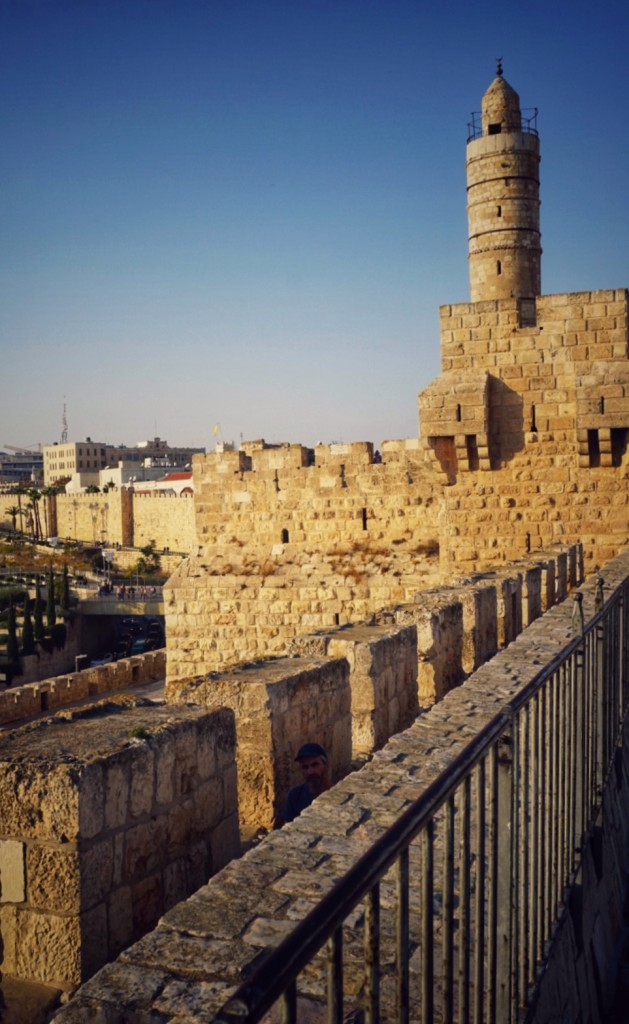 O parte din Poarta Damascului