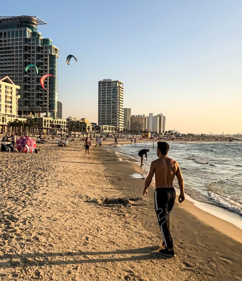 Plaja din Tel Aviv