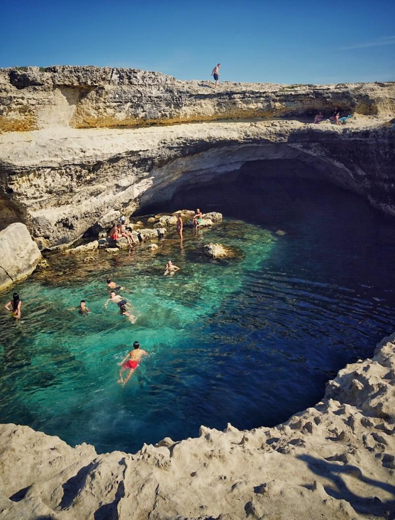 Grotta della Poesia trucuri de vacanţă