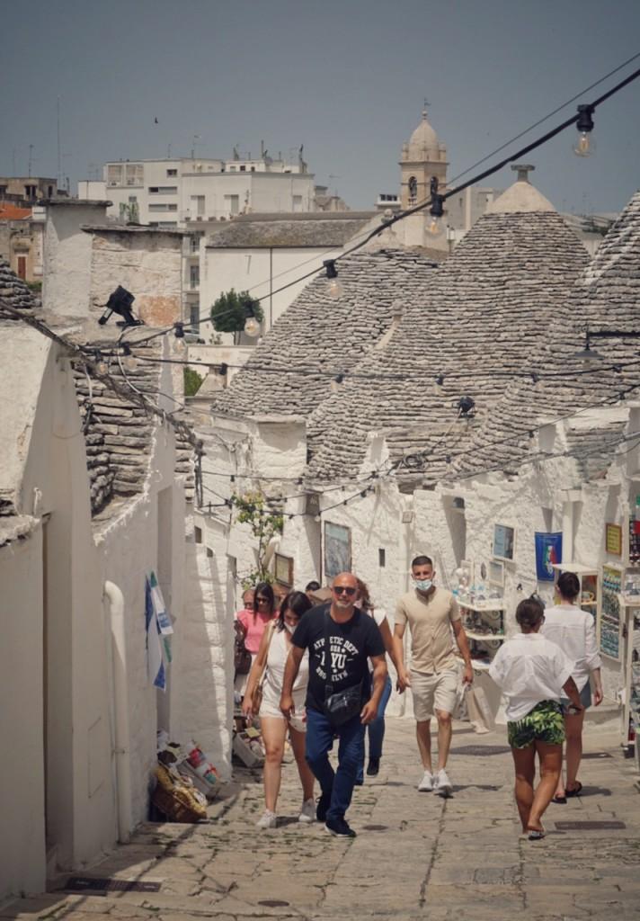 Alberobello centru