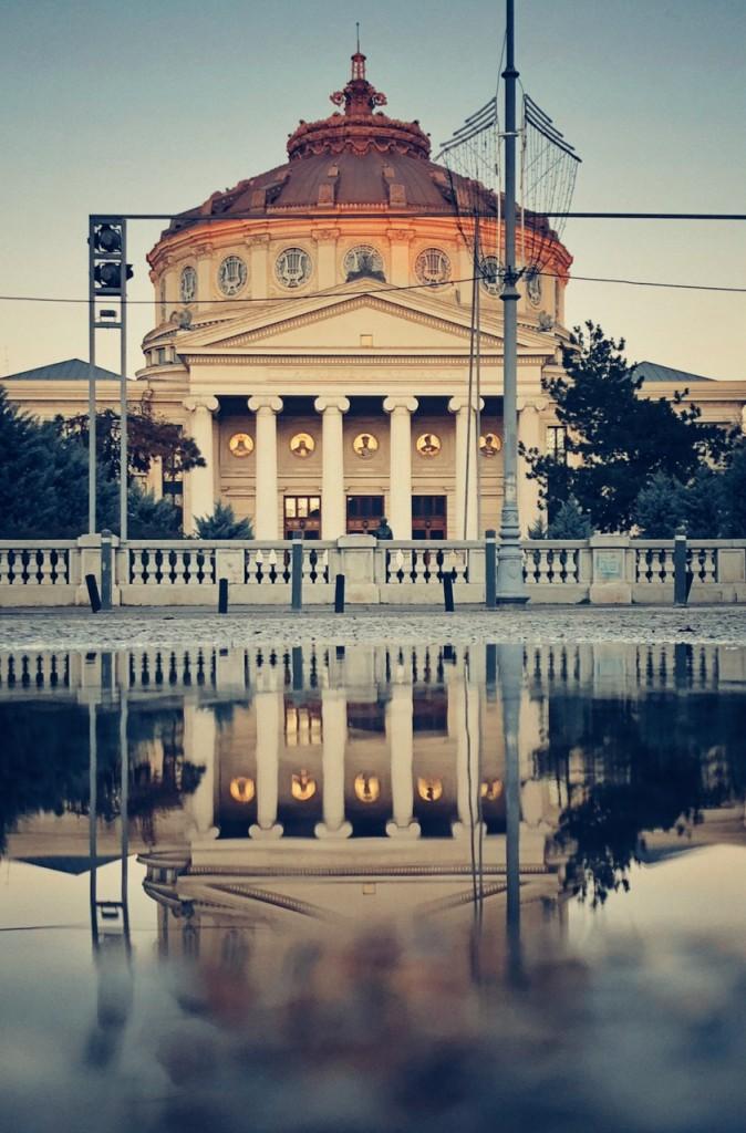 Ateneul Român trucuri foto reflexii