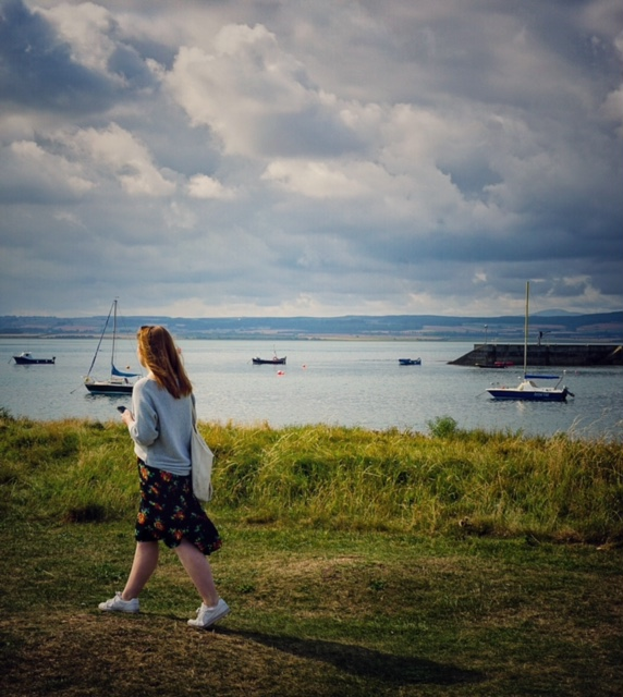 insula Lindisfarne, Norhumberland, Anglia