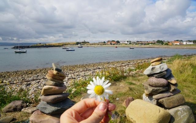 insula de maree Lindisfarne