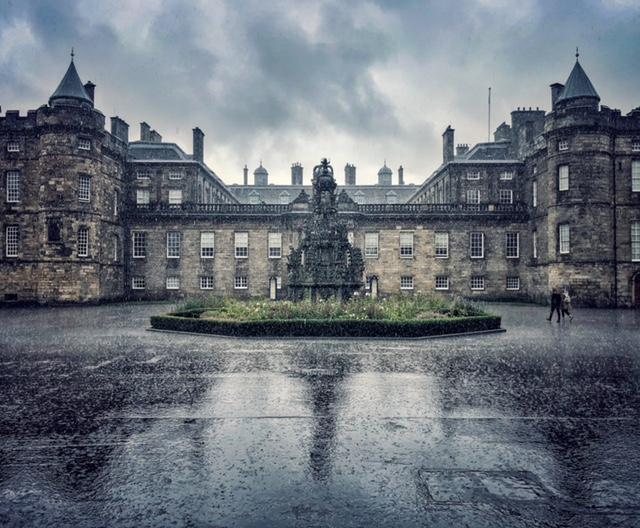 castelul Hollyroode, Edinburgh