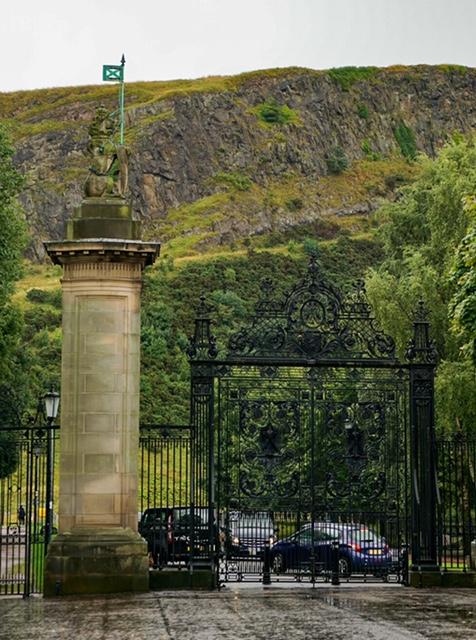 Edinburgh palatul Holyrood