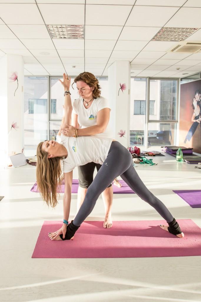 Erica Nagy, instructor Yoga