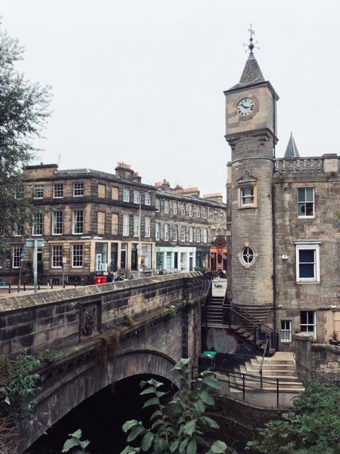 de vizitat gratis în Edinburgh râul Leith